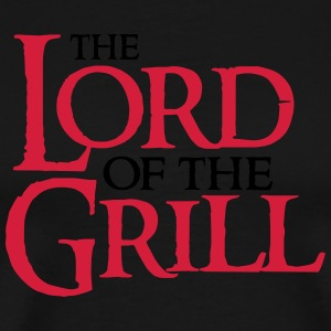 The Lord of the Grill Forklæder - Herre premium T-shirt