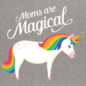 Moms Are Magical | Unicorn T-shirts - Snapback cap