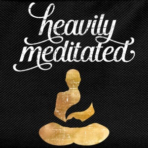 Heavily Meditated T-Shirts - Kids' Backpack