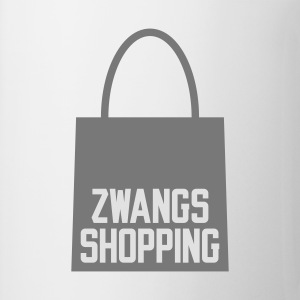 Weiß Zwangs Shopping © T-Shirts - Mugg