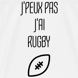 Rugby Rugbyman Ballon Ovale Sport Sportif Baby Bodysuits - Men's Premium T-Shirt