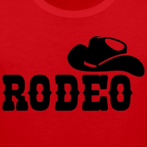 rodeo T-shirts - Mannen Premium tank top