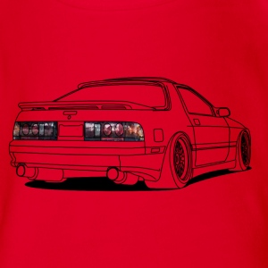 old rx7 T-Shirts - Baby Bio-Kurzarm-Body