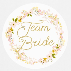 team_bride_big_wreath Magliette - Grembiule da cucina