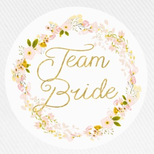 team_bride_big_wreath T-shirts - Baseballcap