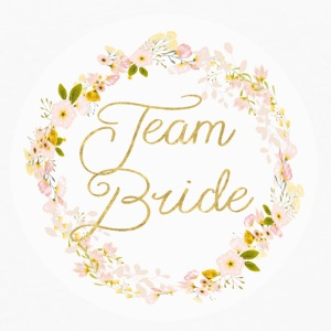 team_bride_big_wreath T-shirts - Mannen Premium shirt met lange mouwen