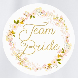 team_bride_big_wreath T-shirts - Gymtas