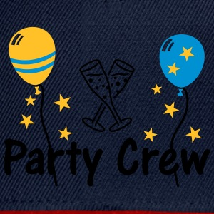 Party Crew Ballon Champagne  T-Shirts - Snapback Cap