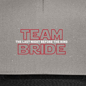 TEAM BRIDE  T-Shirts - Snapback Cap
