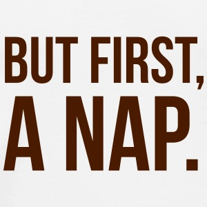 But first a NAP Andet - Herre premium T-shirt