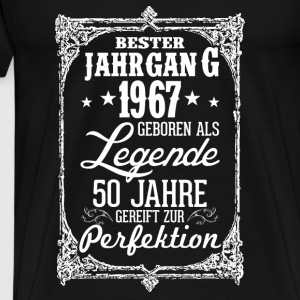 50 - birthday - 1967 - legend - perfection - DE Tops - Men's Premium T-Shirt