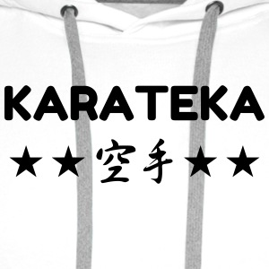 Karate / Karateka / Martial Arts / Fight Tee shirts - Sweat-shirt à capuche Premium pour hommes