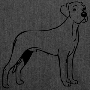 Dog Rhodesian Ridgeback T-Shirts - Shoulder Bag made from recycled material