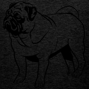 Dog mops T-Shirts - Men's Premium Tank Top