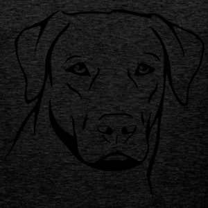 Dog Labrador T-Shirts - Men's Premium Tank Top