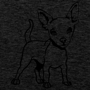 Pet clothing Chihuahua T-Shirts - Men's Premium Tank Top