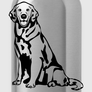Dog Golden Retriever T-shirts - Vattenflaska