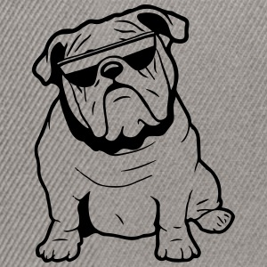 Dog English Bulldog Sonnenbrille T-shirts - Snapbackkeps
