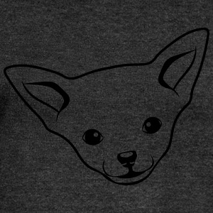 Dog Chihuahua T-Shirts - Women's Boat Neck Long Sleeve Top
