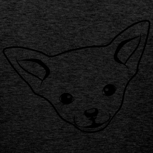 Dog Chihuahua T-Shirts - Men's Premium Tank Top