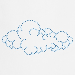 Wolk / cloud (dots, 1c) Kinder sweaters - Keukenschort
