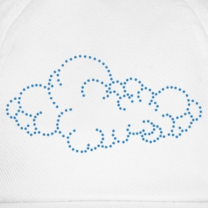 Wolk / cloud (dots, 1c) Kinder sweaters - Baseballcap