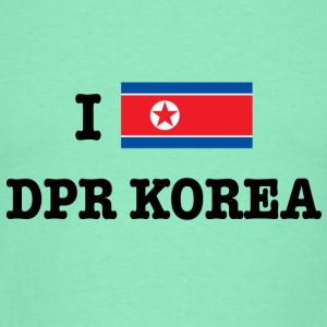 I Heart North Korea (DPR Korea) Hoodies & Sweatshirts - Men's T-Shirt