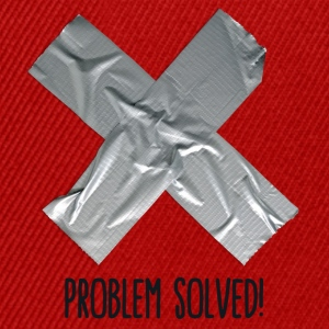 Problem Solved Duct tape T-shirts - Snapback Cap