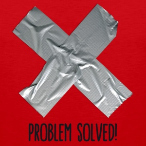 Problem Solved Duct tape T-shirts - Herre Premium tanktop