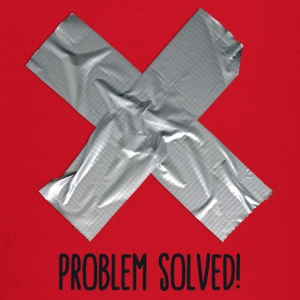 Problem Solved Duct tape Sweaters - T-shirt