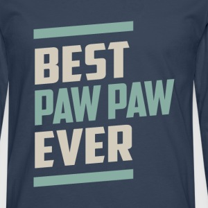 Best Paw Paw Ever - Men's Premium Longsleeve Shirt