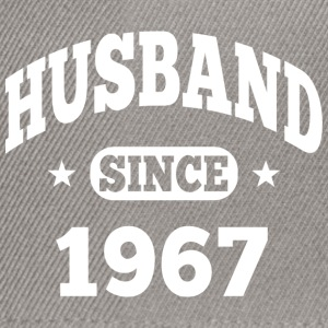 HUSBAND SINCE 1967 T-Shirts - Snapback Cap