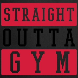 STRAIGHT OUTTA GYM Tops - Kochschürze