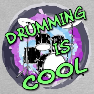 Drumming is cool / Drummer / Schlagzeug T-Shirts - Baby T-Shirt