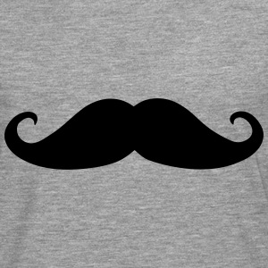 Mustache, beard (cheap!) Tops - Men's Premium Longsleeve Shirt