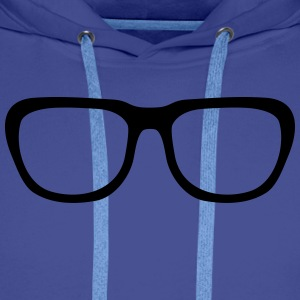 Nerd glasses, Geek (cheap!) Tee shirts - Sweat-shirt à capuche Premium pour hommes