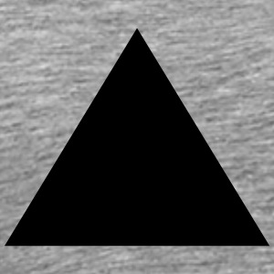 Triangle, pyramid (cheap!) Sportkläder - Premium-T-shirt herr