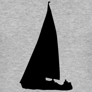Sailboat (cheap!) Sweat-shirts - Tee shirt près du corps Homme