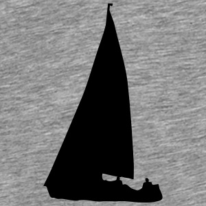 Sailboat (cheap!) Tops - Men's Premium T-Shirt