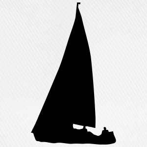 Sailboat (cheap!) Camisetas - Gorra béisbol