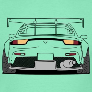 rx7 rear outlines Pullover & Hoodies - Männer T-Shirt