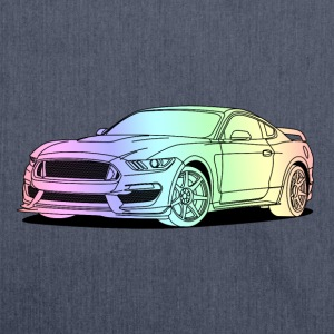 Cool Car Colourful T-Shirts - Schultertasche aus Recycling-Material