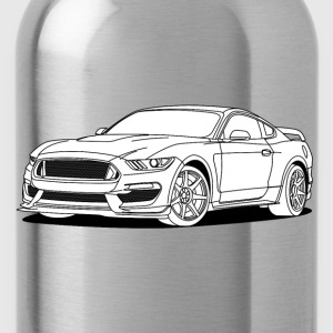 Cool Car White Caps & Hats - Water Bottle