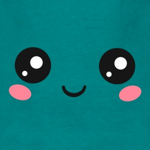 Happy Kawaii Eyes, Manga Face, Anime, Comics Bags & Backpacks - Men's T-Shirt