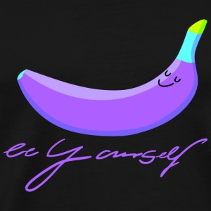 Purple banana Bags & Backpacks - Men's Premium T-Shirt