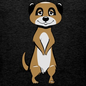 Meerkats sit sweetly T-Shirts - Men's Premium Tank Top
