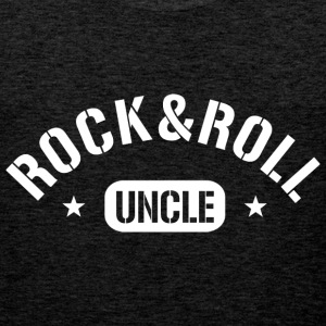 rock and roll uncle T-Shirts - Männer Premium Tank Top