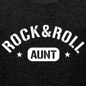 Rock and Roll Aunt T-Shirts - Männer Premium Tank Top