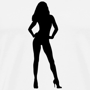 Sexy woman (super cheap)  Aprons - Men's Premium T-Shirt
