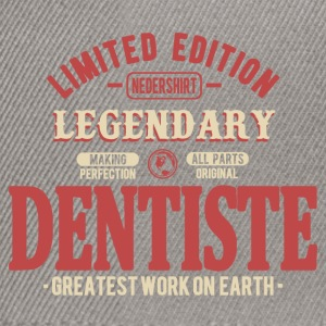 Dentiste Tee shirts - Casquette snapback